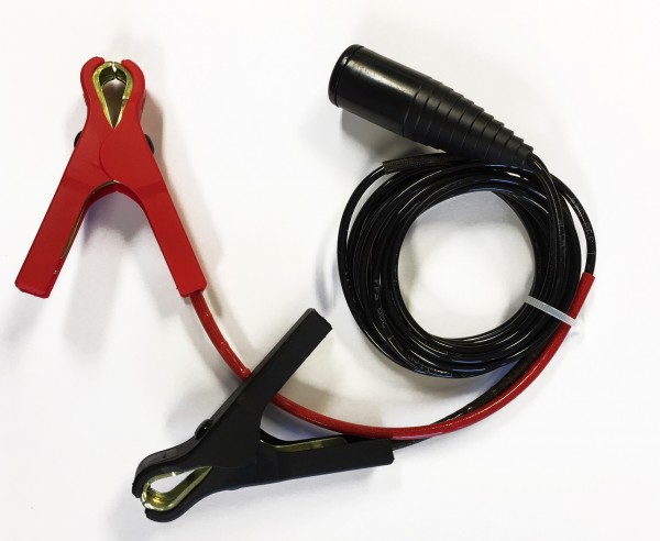 Adapter cable with crocodile clips 8 A with 1,5 m length