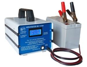 Battery tester 12 V / 24 V