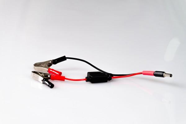 Geräteanschlusskabel 7,5 A mit Zangen, 250mm