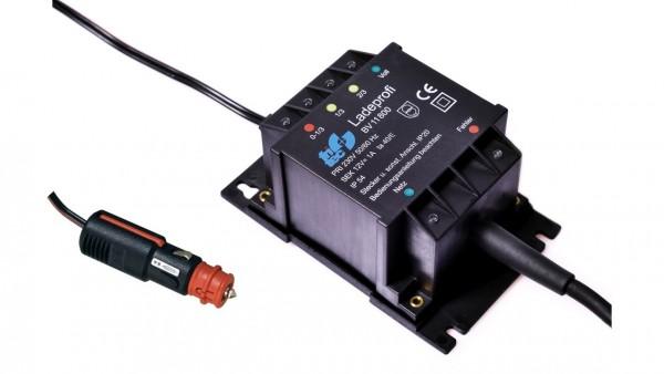 Ladeprofi kompakt für 12 V Gel / Säure Batterie