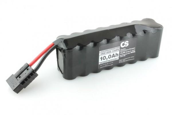 Lithium LiFePO4 Motorrad Starter Batterie -PRO- 12V / 10,0Ah -600A- 215 x 76 x 54mm ~1550g