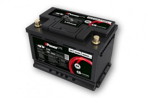 Lithium LiFePO4 Auto Starter Batterie 12V / 40Ah 1000A(EN)