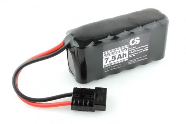 Lithium LiFePO4 Motorrad Starter Batterie -PRO- 12V / 7,5Ah -450A- 160 x 76 x 54mm ~1185g -Stickver.