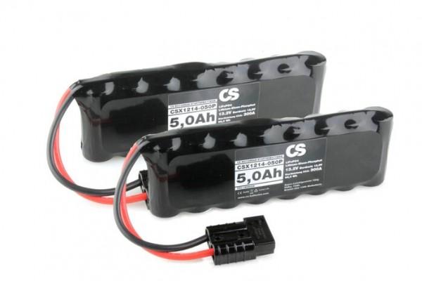Lithium LiFePO4 Motorrad Starter Batterie -PRO- 12V / 10,0Ah -600A- 2 Stück a. 215 x 76 x 54mm ~1590