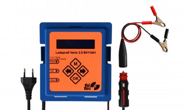 Ladeprofi Vario 2.0 für 12 V Batterietypen